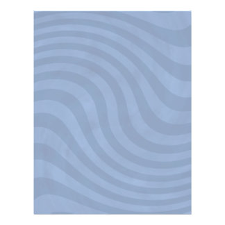 Light blue wavy stripes flyers for your text