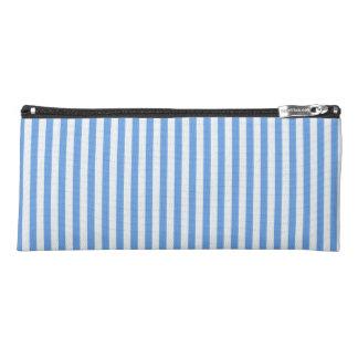 Light Blue & White Sailor Stripes Pencil Case