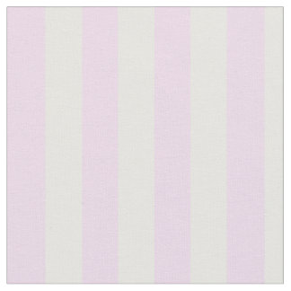 Light Blush Pink and White Vertical Stripes Fabric