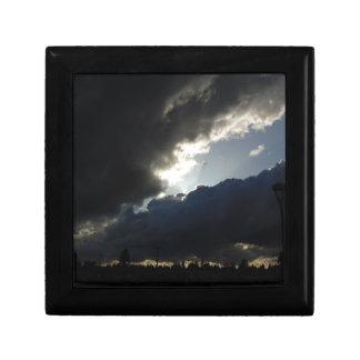 Light Breaks Through Keepsake Box