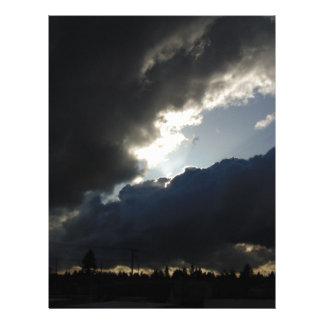 Light Breaks Through Letterhead