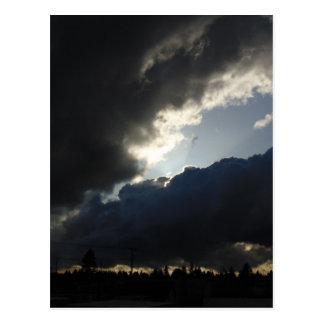 Light Breaks Through Postcard
