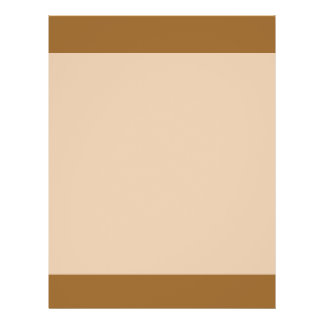 Light Brown border Full Color Flyer