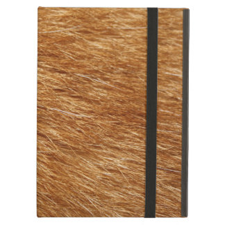LIGHT BROWN FUR iPad AIR COVERS