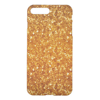 Light Brown Glitter iPhone 7 Plus Case