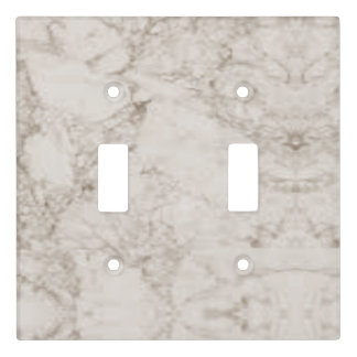 Light Brown Marble Look Light Switch Cover