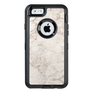 Light Brown Marble Look OtterBox Defender iPhone Case