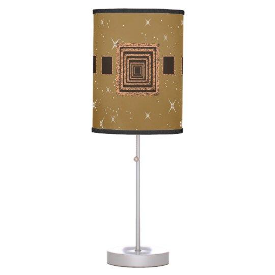 light brown orange mirror decorative lamp shade