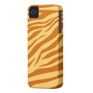 Light Brown/Tan Zebra Print - iPhone 4/4s Case