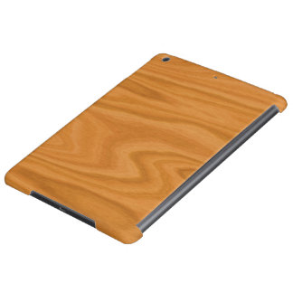 Light brown wood iPad air cover