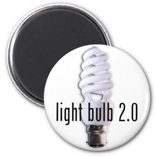Light Bulb 2.0 Fridge Magnet
