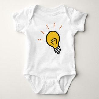 Light Bulb Baby Bodysuit