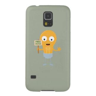 light bulb free hugs happy Zggq6 Cases For Galaxy S5