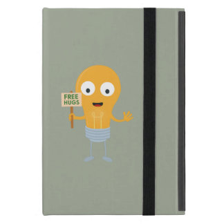 light bulb free hugs happy Zggq6 Cases For iPad Mini