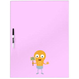 light bulb free hugs happy Zggq6 Dry Erase Boards
