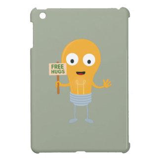 light bulb free hugs happy Zggq6 iPad Mini Cases