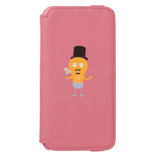 light bulb groom with flowers Z4686 Incipio Watson™ iPhone 6 Wallet Case