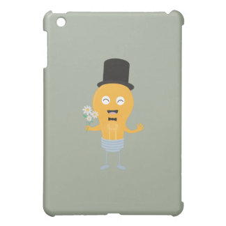 light bulb groom with flowers Z4686 iPad Mini Cases