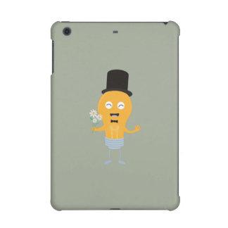 light bulb groom with flowers Z4686 iPad Mini Cover