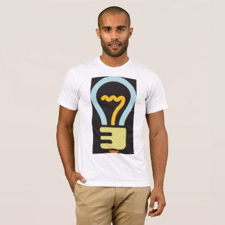 Light Bulb Icon Mens T-Shirt
