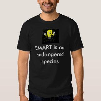 Light Bulb, SMART is an endangered species Tshirt
