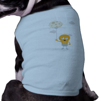 light bulb switch on the moon Ze7r4 Doggie T-shirt