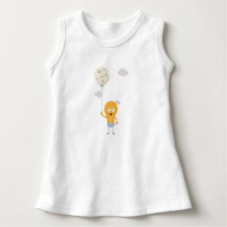 light bulb switch on the moon Ze7r4 Dress