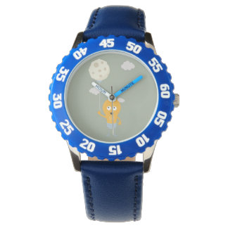 light bulb switch on the moon Ze7r4 Watches