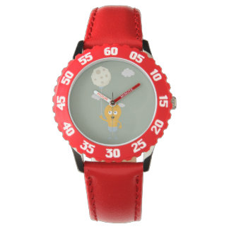 light bulb switch on the moon Ze7r4 Wrist Watches