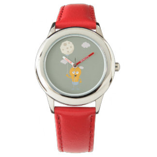 light bulb switch on the moon Ze7r4 Wristwatches