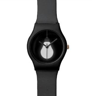 Light Bulb Wrist Watches