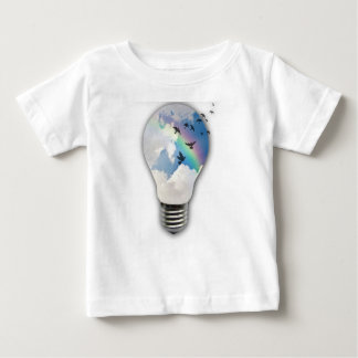 Light Bulbs Actually Spur Bright Ideas Baby T-Shirt