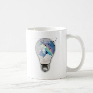 Light Bulbs Actually Spur Bright Ideas Coffee Mug