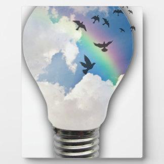 Light Bulbs Actually Spur Bright Ideas Plaque