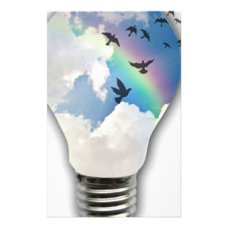 Light Bulbs Actually Spur Bright Ideas Stationery