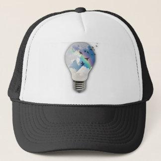 Light Bulbs Actually Spur Bright Ideas Trucker Hat