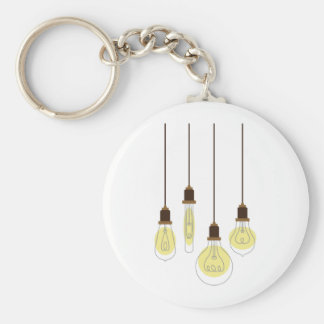 Light Bulbs Keychain