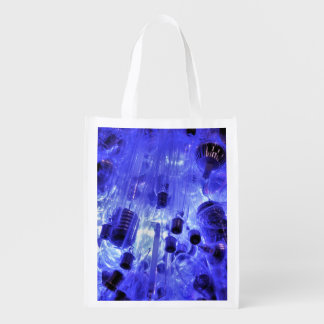 LIGHT BULBS REUSABLE GROCERY BAG