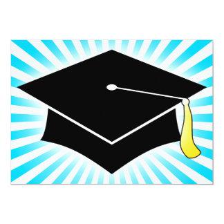 light burst graduation cap announcement