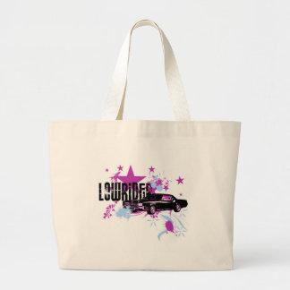 Light Cadillac Lowrider II Large Tote Bag