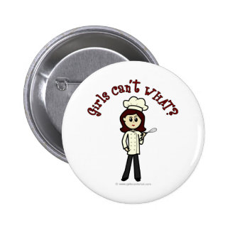 Light Chef Girl Pin