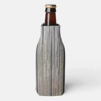 Light Colour Wood Pattern Bottle Cooler