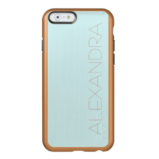 Light Cyan Solid Color Incipio Feather® Shine iPhone 6 Case