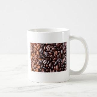 Light & Dark Roast Coffee Beans - Customized Blank Classic White Coffee Mug