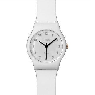 Light design of a watch