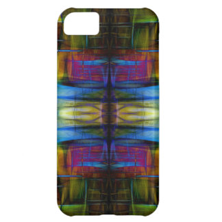 Light-Effect Sci-Fi Abstract Cover For iPhone 5C