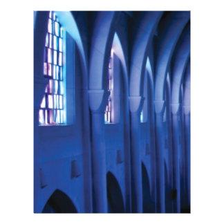 light enters dark church letterhead