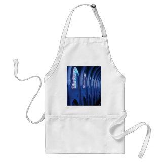 light enters dark church standard apron