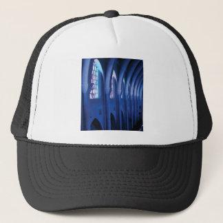 light enters dark church trucker hat