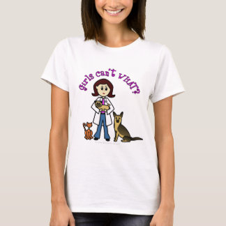 Light Female Veterinarian T-Shirt